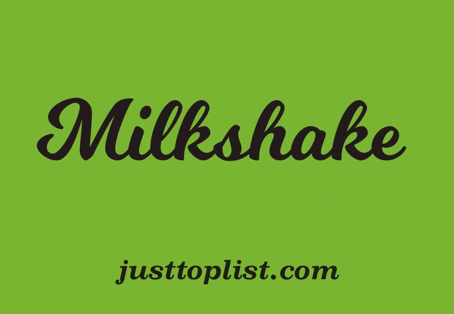 Milkshake-font-download